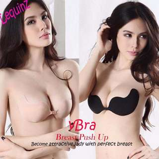 Nubra Vbra Breast Up Push UP Stick On Bra