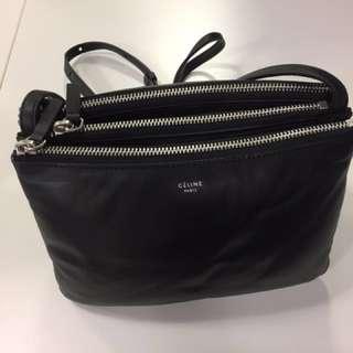 Celine Triple Trio Bag  100% New