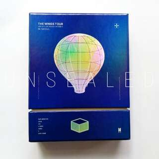 BTS 2017 Live Trilogy Episode III: WINGS TOUR In Seoul DVD (Special Photobook)