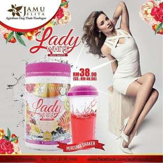 Lady White By Jamu Jelita