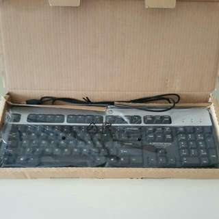 🚇♷Brand New Original HP USB Keyboard With Complete Accessories