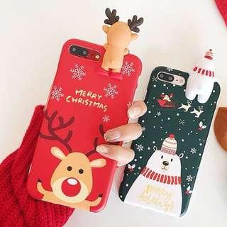 iPhone case 電話殼 for 6s/6splus/7/7plus/8/8plus/x 情侶款 聖誕禮物首選