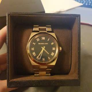 Authentic Michael Kors rose gold watch $70