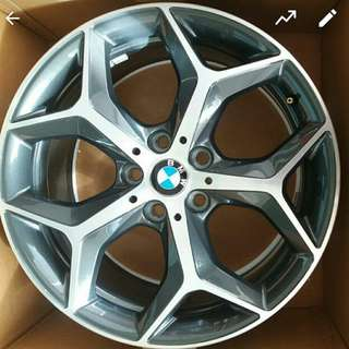 BMW X1 F48 stock 18 inch 7.5jj alloy wheels rims pcd 112 x 5