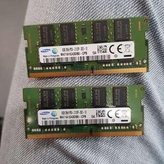 16gb ddr4 laptop ram (8gb×2)
