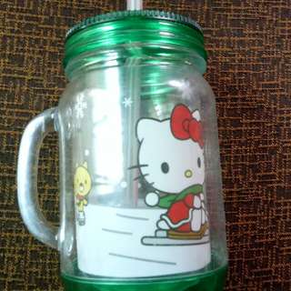 Botol minum Hello Kitty Happy New year