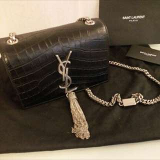 Saint Laurent Ysl small kate tassel chain bag