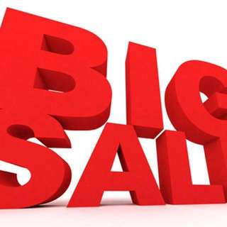 Up to 70% off!!! Great warehouse sale!!!! Pre-Christmas Sale!!!!