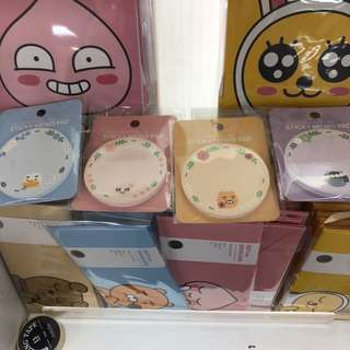 [PO] KAKAO FRIENDS STICKY MEMO PAD RYAN APEACH TUBE NEO