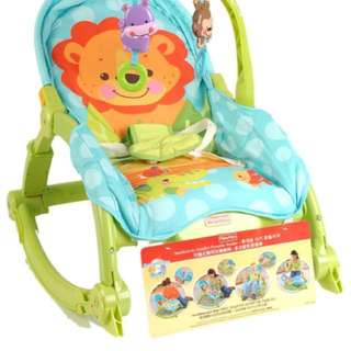 Fisher Price Infant to toddler Rocker(Blue)Lion