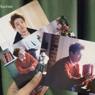 [EXO] Xiumin Miracles in December Postcards