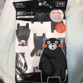 熊本熊 野餐墊 日本製