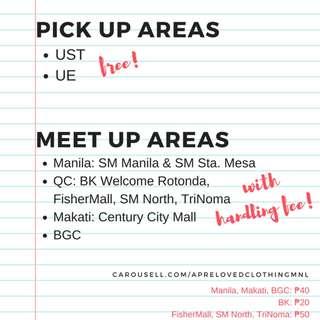 MEET UP DETAILS