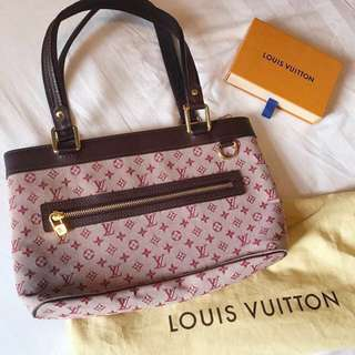 ❤️LV burgundy mini monogram shoulder bag 👜
