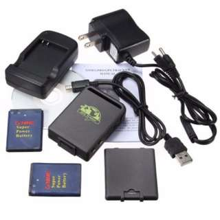 Spy Vehicles Realtime GPS/GSM/GPRS TK102B Quad band Car Tracker + Data cable NEW