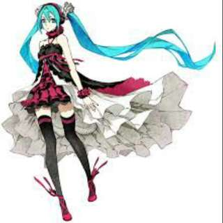 WTS Hatsune Miku 2020/7th red dragon cosplay