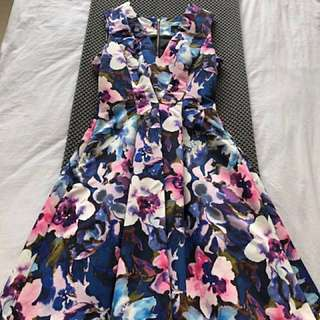Cue Regatta Floral Dress