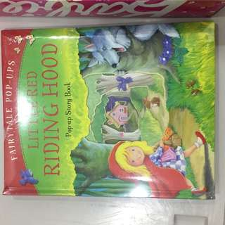 Little red riding hood pull up book