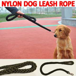 TPE048 Large Dog Leash high-quality nylon Woven large pet rope