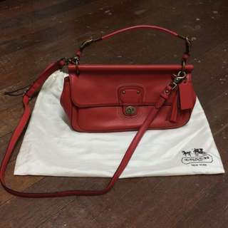 (Free Postage) Authentic Coach Bag