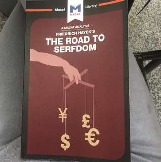 Analysis to Friedrich Hayek's - The Road to Serfdom