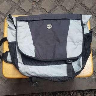 Timberland messenger laptop bag tas selempang