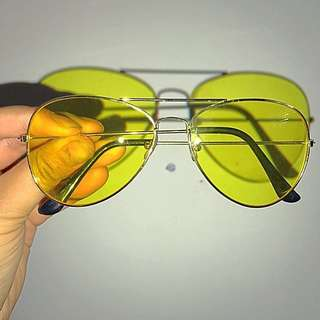 YELLOW, RED, BLUE FEAR AND LOATHING AVIATORS - ALL FOR $25