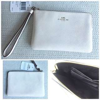 🆕COACH small zip pouch 拉鋉包