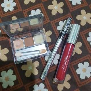 Wardah Double Func Kit + EyeXpert + Exclusive Matte Lip Cream
