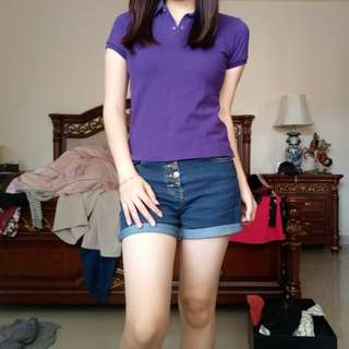 Giordano polo purple