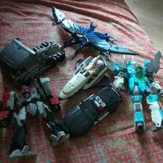 Transformers Loose Bundle