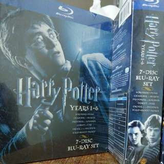 [Blu-Ray] Harry Potter Years 1-6, 7-Disc