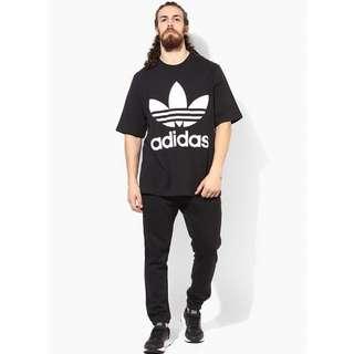 Adidas Originals Oversize 寬鬆logo短袖上衣 短T