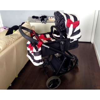 Stroller Cosatto - Giggle Travel System