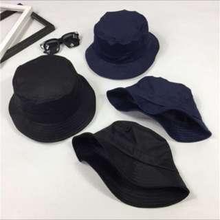 全新黑色漁夫帽