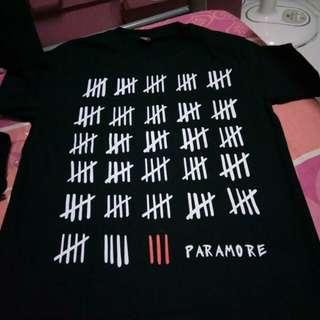 Paramore Shirt (unused) + Freebies