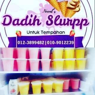 Dadih ice cream