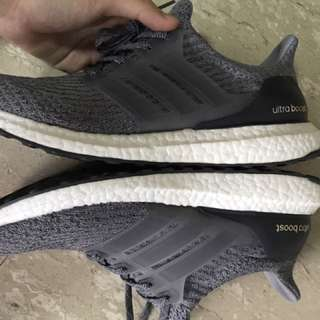 🎉STEAL Ultra Boost 3.0 Mystery Grey