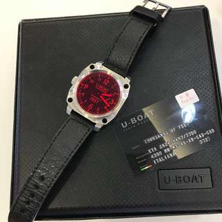 U-Boat Limited Edition Thousands of Feet Red