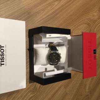 天梭Tissot三眼計時腕錶