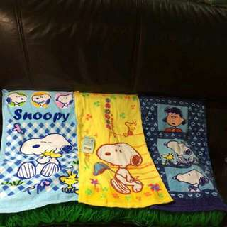 史努比系列毛巾 --Snoopy 童巾 #我的家飾可超取