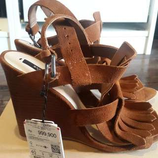 Zara wedges 40
