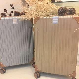 香檳色行李箱24吋