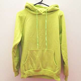 Fluorescent Green Jumper