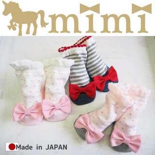 Ribbon Socks mimi Socks 蝴蝶小襪子