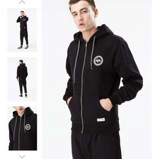 🎉現貨 Hype Zip Up Hoodie with Crest Logo 連帽外套 內刷毛 英國直送 保證真品