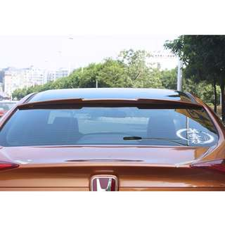(WHITE) Honda Civic 10 Top Tail Roof Wing