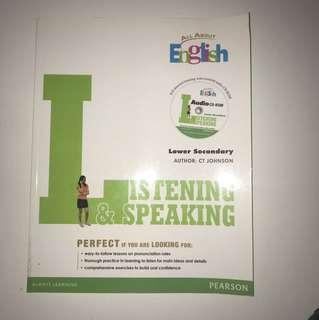 Lower Secondary Listening & Speaking