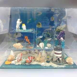 海洋的奧祕 玩具 figure 手辨 擺設