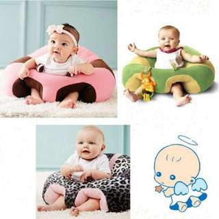 [FREE POSTAGE] Baby infant toddler soft sofa cushion, sitting chair, sofa kanak-kanak, baby beab bag